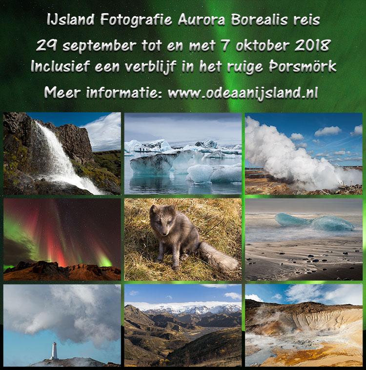 Fotografiereis naar IJsland, Herfst 2018