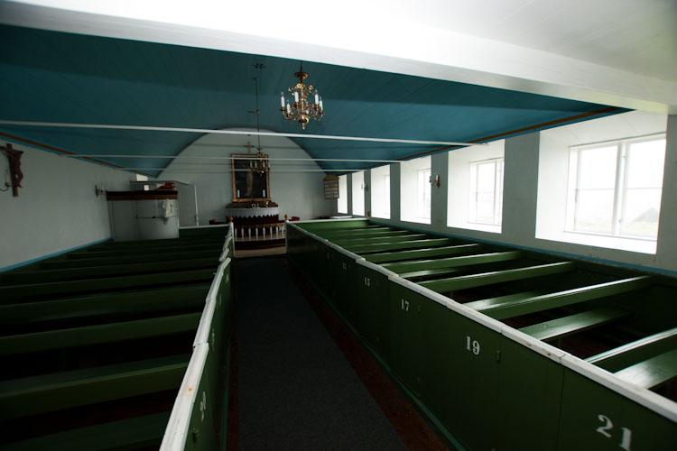 De kerk van Mykines