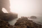 Sferen in de mist