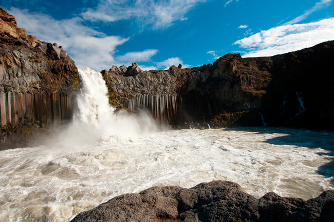 """Aldeyarfoss uit """"Ode aan IJsland"""""""