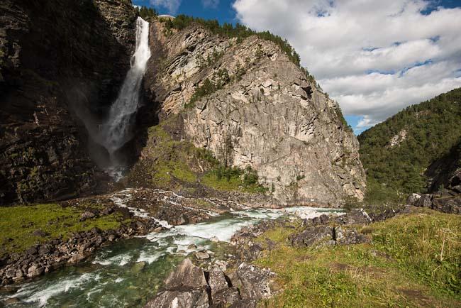 De onderste waterval